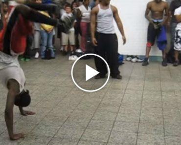 Break Dance No Metro De New York, Brutal 9