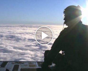 Incrível Cenário Do Alaska Visto Da Plataforma De Um C-17 Globemaster III Em Pleno Vôo 6