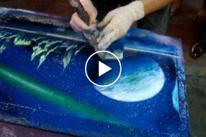 Pinturas Em Spray, Impressionante!!! 27