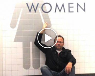Homem Fica Retido No Aeroporto Durante a Noite, Consegue Imaginar o Que Fez a Seguir?? 5