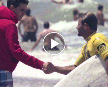 Campeão De Surf Desqualificado Ao Concretizar Sonho De Paraplégico 8