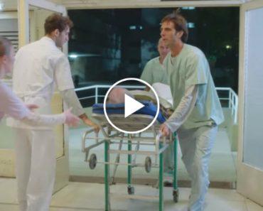 Homem Sente-se Mal e Vai Ao Hospital... O Que Acontece Depois Vai Emocionar-te 8