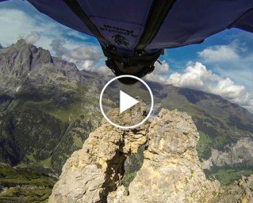 Salta De Montanha e Passa Por Buraco De 2 Metros De Diâmetro 8