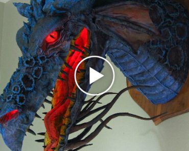 Vai Ficar Surpreso Ao Ver o Que Este Escultor Utiliza Para Fazer Este Impressionante Dragão 6