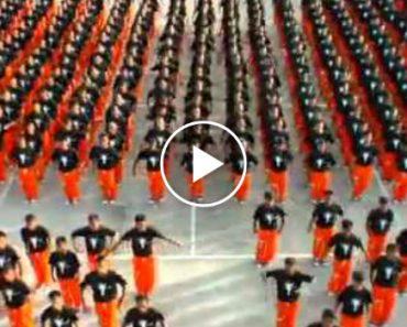 Detidos Em Prisão De Segurança Máxima Fazem Impressionante Coreografia 5