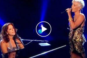 Incrível Dueto Com Sarah McLachlan e Pink Deixa Plateia Sem Palavras 9