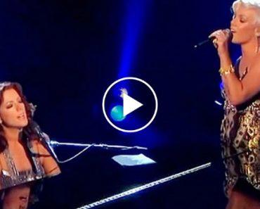 Incrível Dueto Com Sarah McLachlan e Pink Deixa Plateia Sem Palavras 4