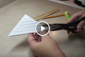 Ela Faz 5 Cortes Num Papel Triangular e o Resultado é Simplesmente Incrível! 10