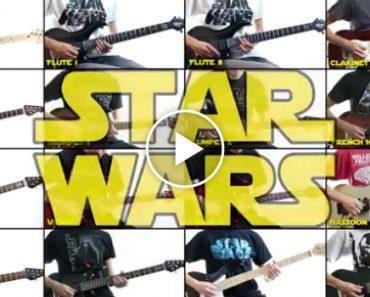Extraordinário: Guitarrista Conseguiu Tocar Sozinho Cada Parte Orquestral Do Tema Star Wars! 8