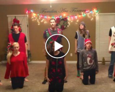 A Família Juntou-se Para Gravar o Vídeo Anual De Natal e o Que Fizeram a Seguir é Fabuloso 3