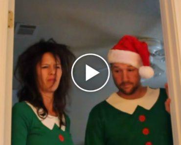 Este Casal Não Podia Acreditar No Que Fez a Sua Bebé No 1º Natal Da Sua Vida 12