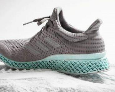 Adidas Cria Os Primeiros Ténis Do Mundo Com Impressora 3D Feitos De Resíduos De Oceano 1