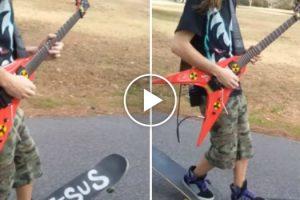 O Que Acontece Quando Se Gosta Tanto De Andar De Skate Quanto Tocar Guitarra 10