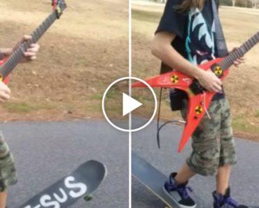 O Que Acontece Quando Se Gosta Tanto De Andar De Skate Quanto Tocar Guitarra 8