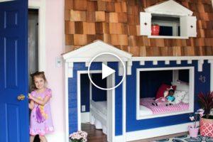 Pai Habilidoso Transforma Aborrecido Beliche Das Filhas Em Casa De Sonho 10