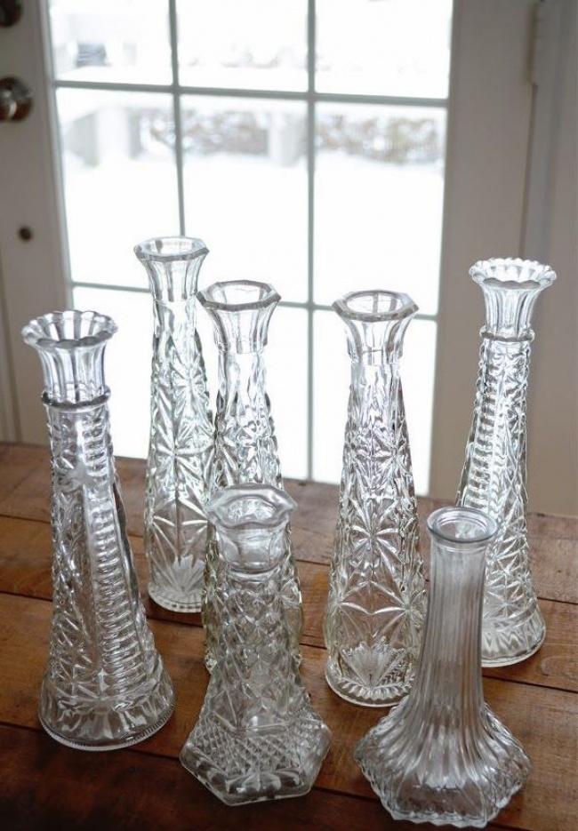 8- Jarras e Garrafas Decorativas de Vidro