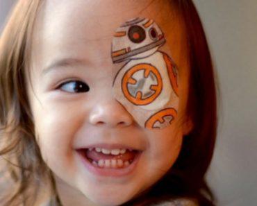 Todos Os Dias Este Pai Cria Um Tapa-Olhos Diferente Para a Sua Filha 1