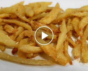 Esta Receita É Uma Boa Alternativa Para Quem Gosta De Batatas Fritas Mas Não Quer Usar Óleo 9