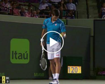 Novak Djokovic Consegue o Impossível Durante Competição De Ténis 6
