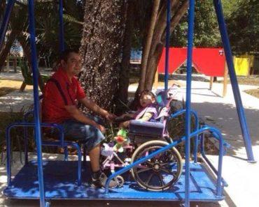 Parque Infantil Inova Com Brinquedos Totalmente Adaptados Para Crianças Deficientes 1