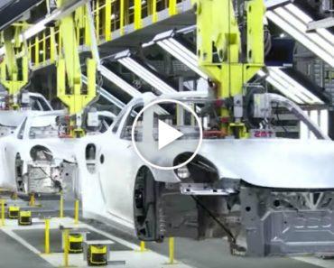 Como Se Fabrica Um Porsche 911 Em 120 Segundos 5