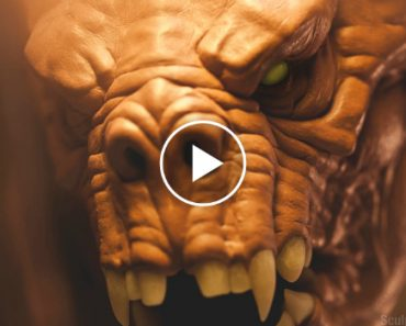 Escultor Faz Incrível e Detalhada Escultura De Assustadora Criatura 5