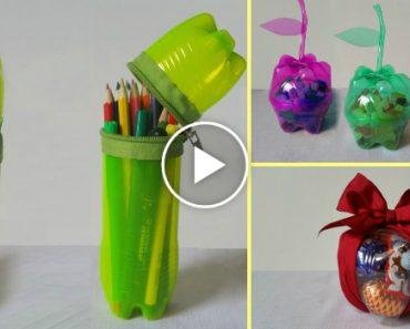 10 Ideias Criativas Para Reutilizar As Garrafas De Plástico 6