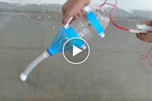 Como Transformar Uma Garrafa De Plástico Num Aspirador De Pó 10