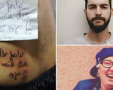 Neto Tatuou o Último Recado Que a Avó Deixou Para Ele Antes De Falecer 2