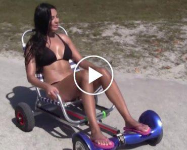 Como Uma Hoverboard Se Transforma No Acessório De Praia Perfeito 7