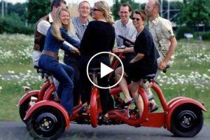 Este é o Único Veículo a Pedais Do Mundo Com Capacidade Para 7 Pessoas 4