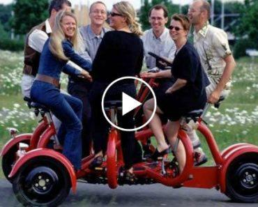 Este é o Único Veículo a Pedais Do Mundo Com Capacidade Para 7 Pessoas 5