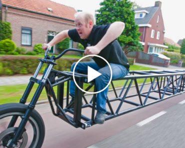 Tem 35 Metros é Holandesa e é Considerada a Maior Bicicleta Do Mundo 8