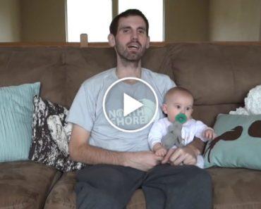 Pai Grava Emocionante Vídeo Para a Filha Bebé Momentos Antes De Morrer 6