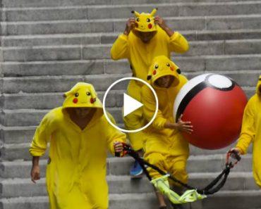 Grupo De Pikachus Inverte o Jogo e Vinga-se Nos Jogadores Do Pokémon Go 5