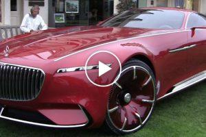 Veja Como Este Enorme e Luxuoso Carro Da Mercedes Pode Ser Totalmente Controlado Remotamente 10