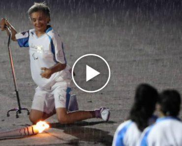 Ex-Campeã Márcia Malsar Cai Com a Tocha Paralímpica, Mas Acaba Por Nos Dar Uma Grande Lição 8