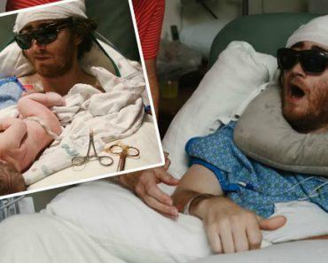 Pai Com Cancro Terminal Transferido Para Ver o Seu Filho Nascer 19