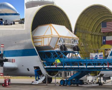 Este Estranho Avião Tem a Capacidade De Transportar Facilmente Uma Casa Inteira 4