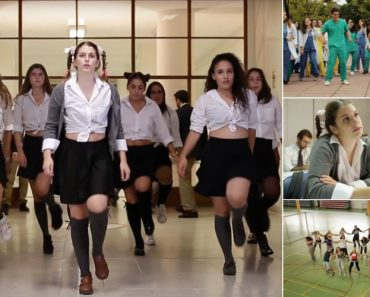 "Alunos De Medicina Fazem Paródia Musical Do Tema De Britney Spears ""Baby One More Time"" 2"