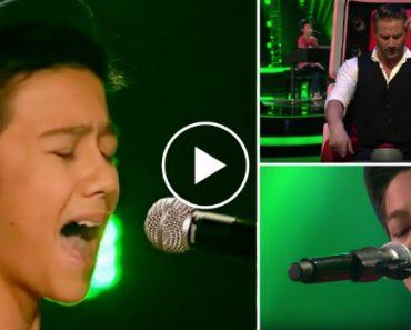"""Com Apenas 13 Anos Arrasou No """"The Voice"""" Ao Cantar Tema De Alicia Keys 9"""