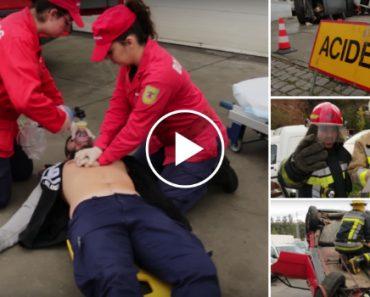 A Importante Mensagem Do Mannequin Challenge Dos Bombeiros Voluntários De Paços De Ferreira 7