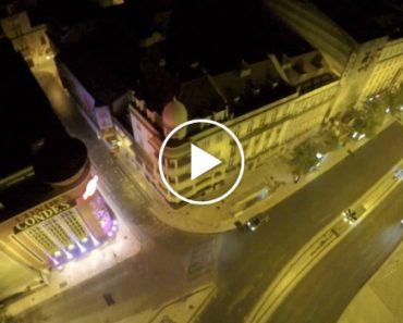 Homem Salta De Uma Grua No Centro De Lisboa, Num Vídeo Cheio De Adrenalina 5