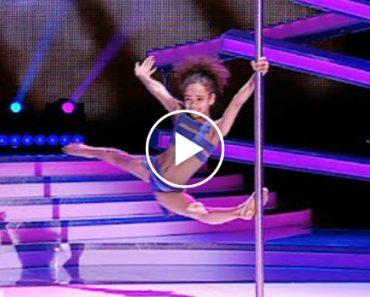 Menina De 8 Anos Tem Extraordinário Desempenho Com Dança Do Varão 9