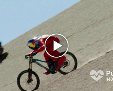 Markus Stöckl Desce Montanha a 167,6 Km/h Em Cima De Bicicleta e Bate Recorde Mundial 6