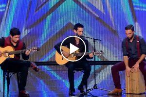 """Grupo Português Conquista Publico e Jurados No """"Got Talent España"""" 10"""