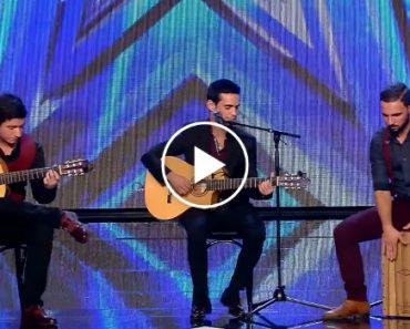 """Grupo Português Conquista Publico e Jurados No """"Got Talent España"""" 1"""