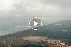 A Aterragem Perfeita Do Foguetão Falcon 9 Da Space X 9