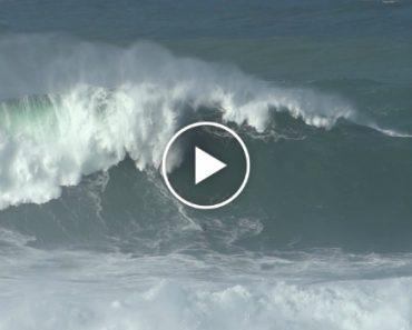 Mar Da Nazaré Novamente Nas Bocas Do Mundo Depois De Surfista Apanhar Onda Monstruosa 1