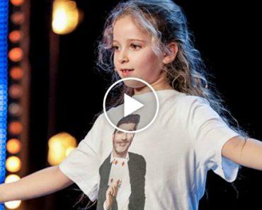 Menina De 8 Anos Surpreende Júri Em Programa De Talentos Com Magia De Harry Potter 1
